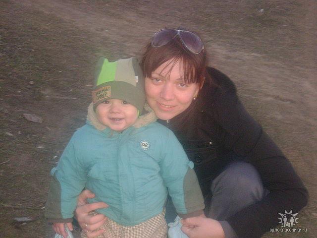 Егорка с мамой